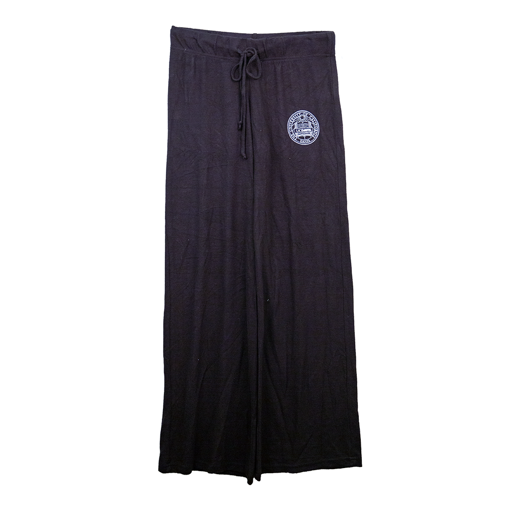 6475dfe24cb Boxercraft® UC Davis Women s Wide Leg Sweatpants Black