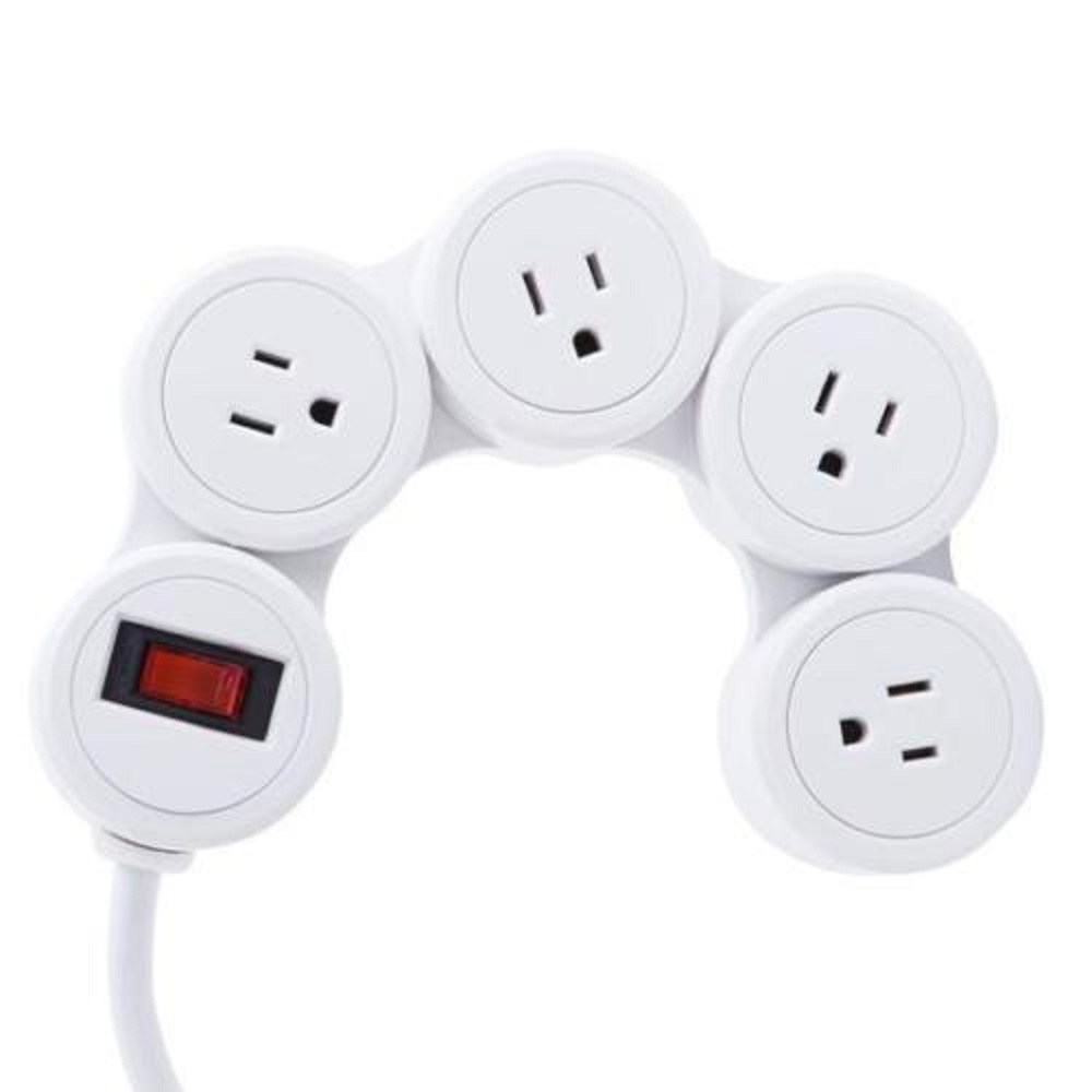 Image For Kikkerland® Flexible Power Strip