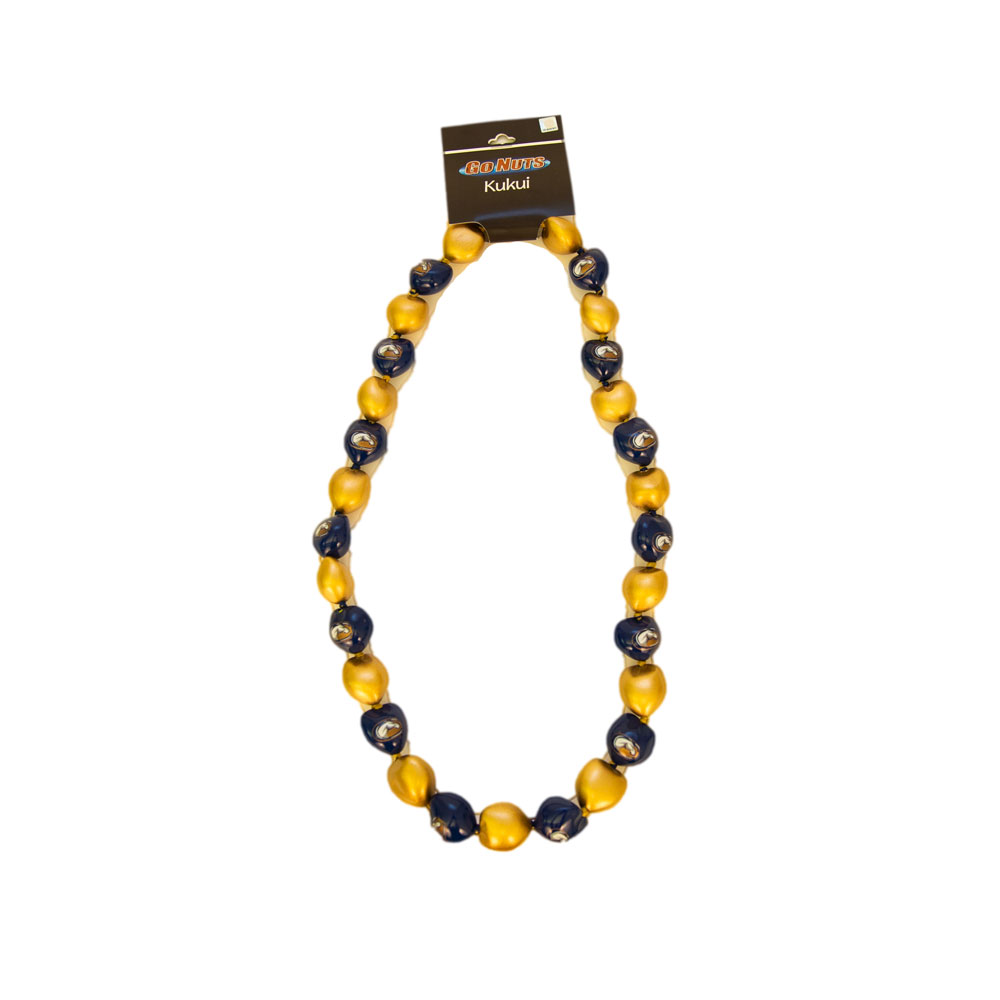Image For UC Davis Mascot Kukui Nut Graduation Lei