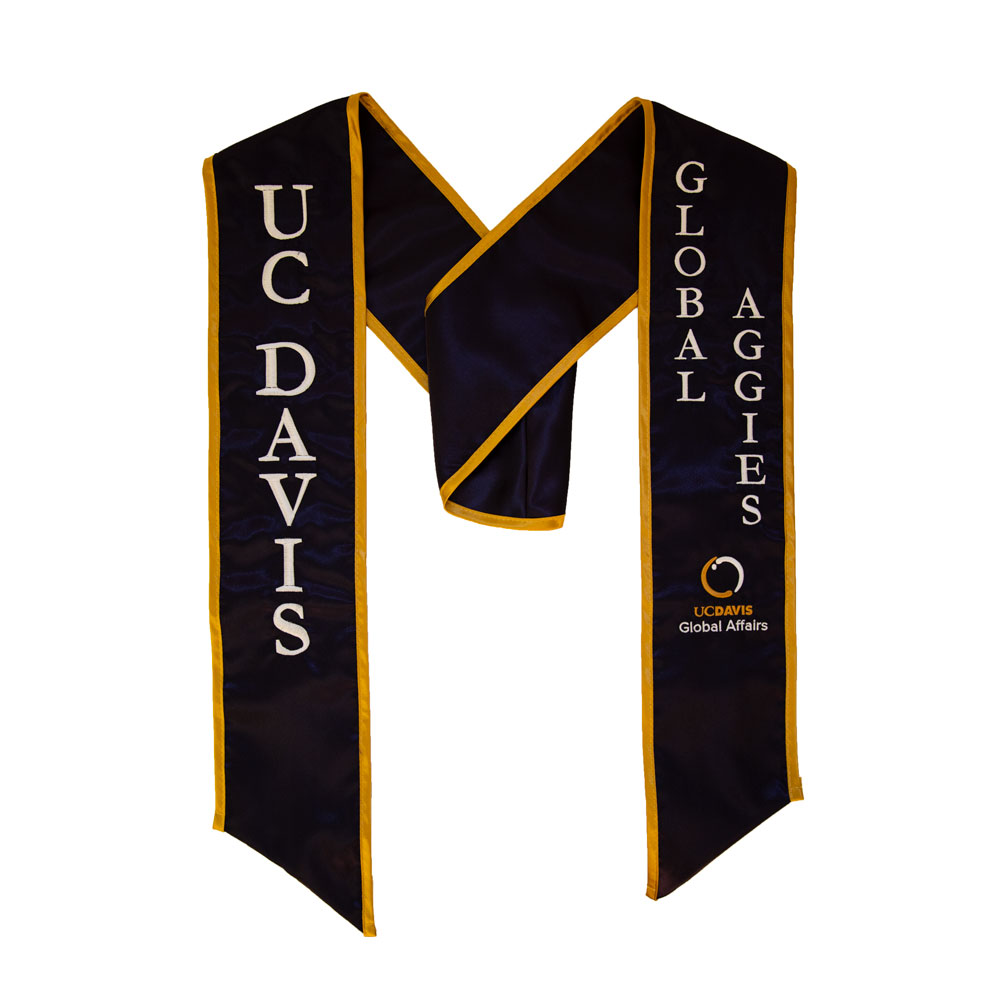 Image For UC Davis Stole - Global Aggies