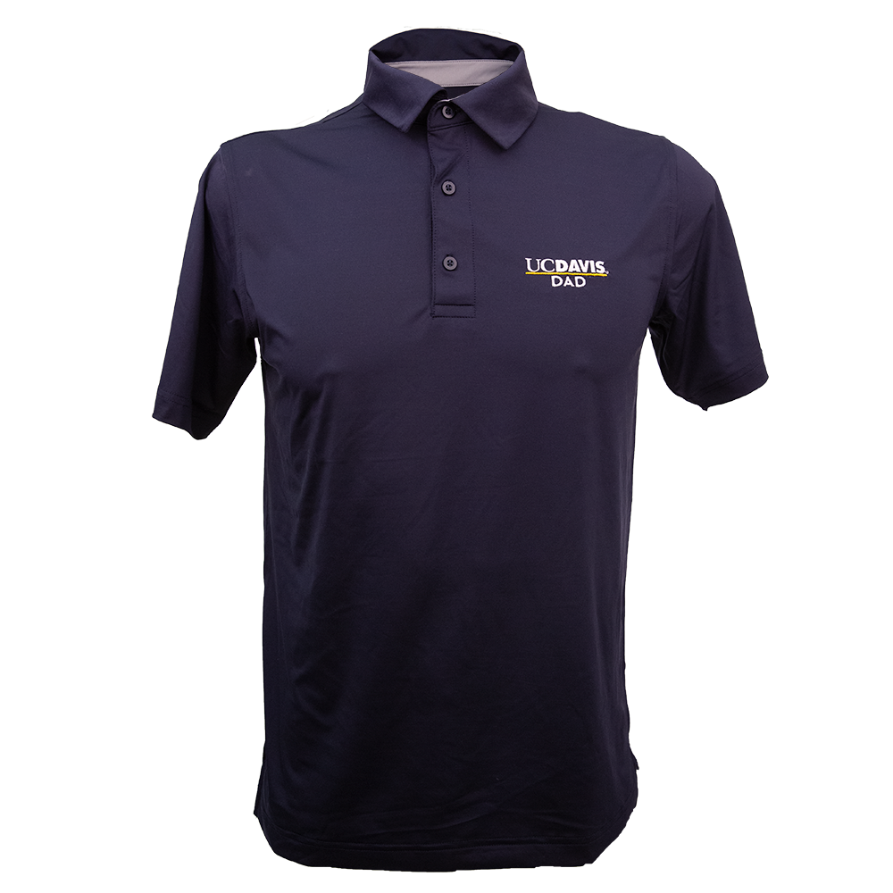 Image For Champion® Athleticwear UC Davis Dad Polo Navy
