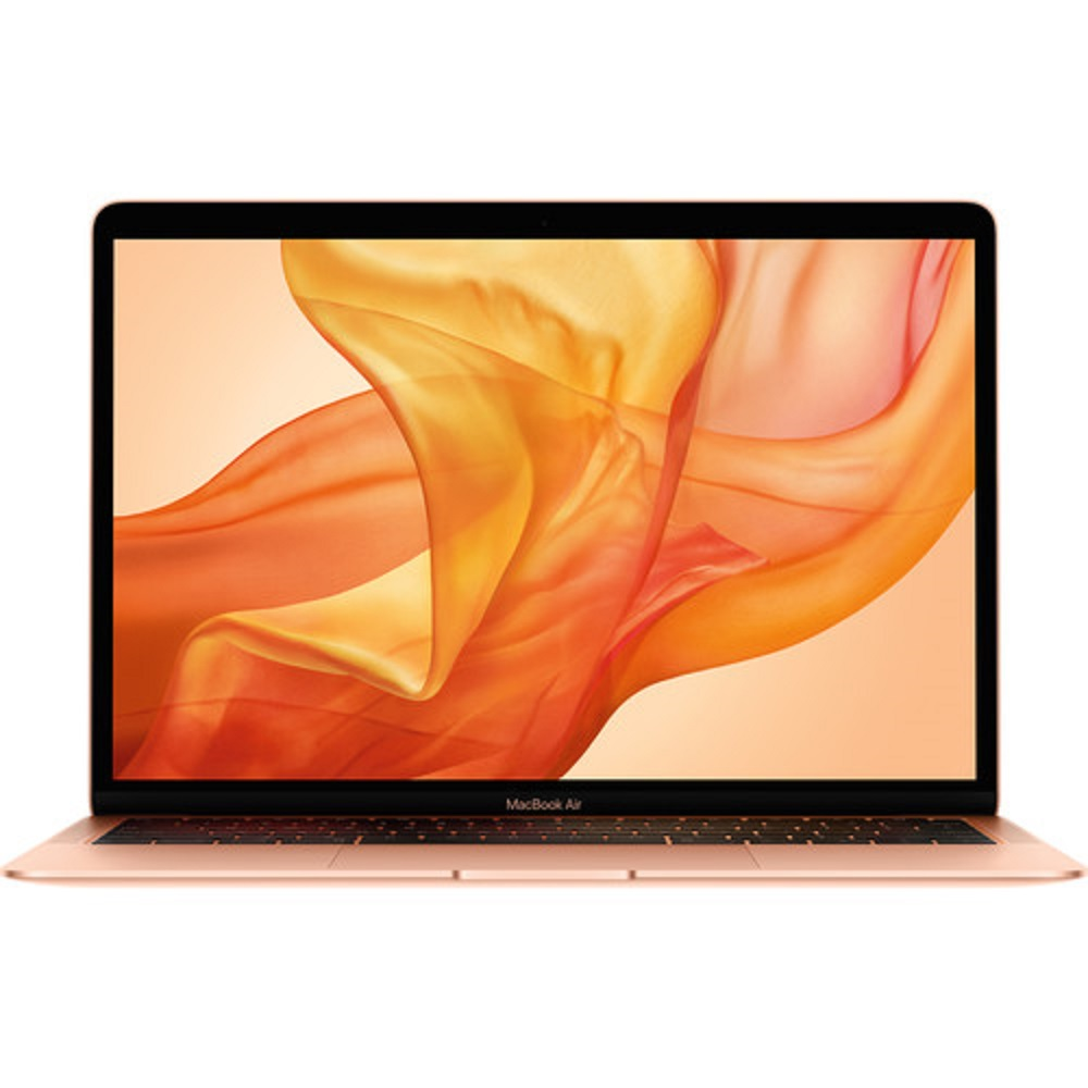 Cover Image For 13-Inch Macbook Air w/Retina Display 128GB Gold 2019!