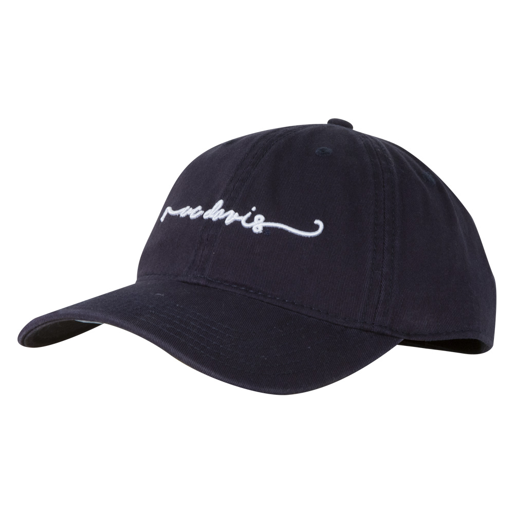Image For Legacy® UC Davis Script Relaxed Twill Hat Navy