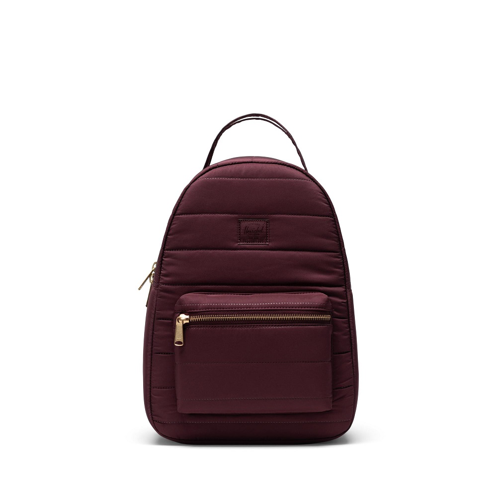 Image For Herschel Supply Co. Quilted Nova Mini Plum