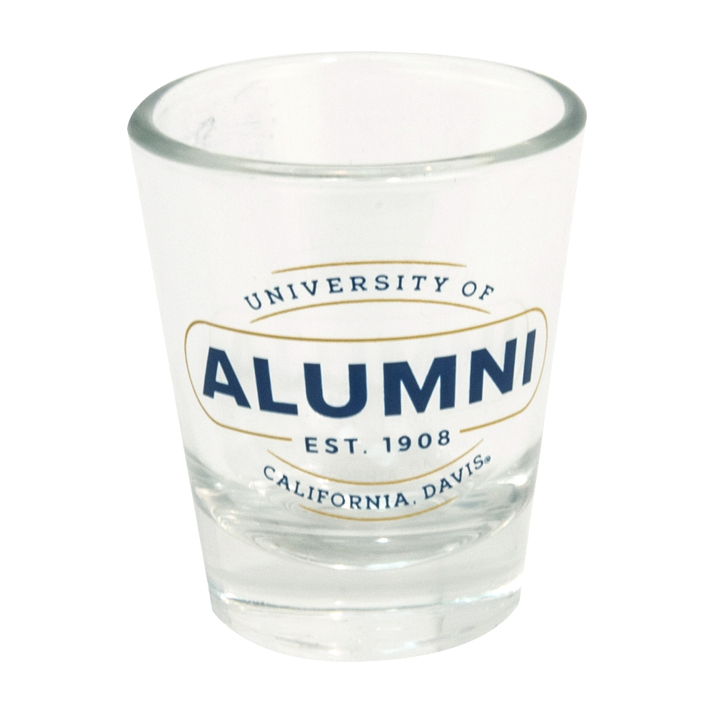 Image For Shot Glass UC Davis Alumni