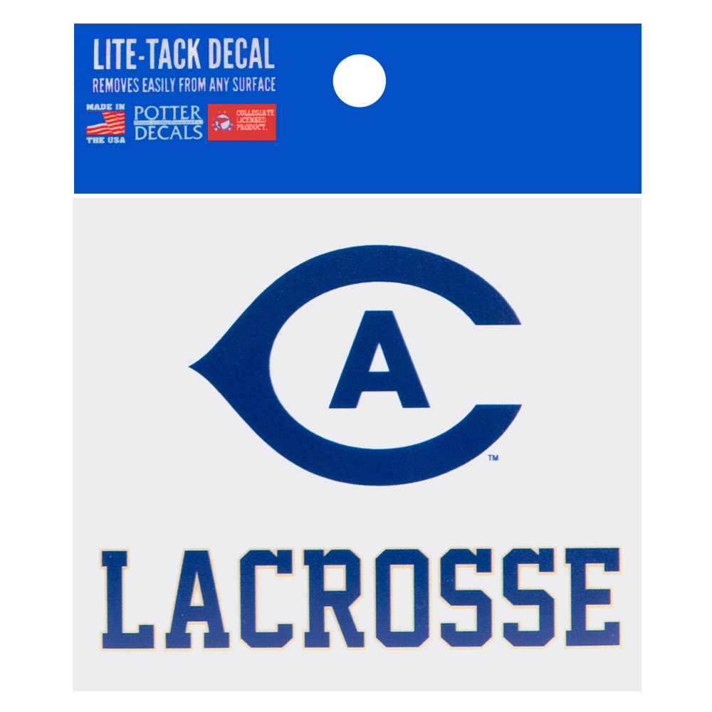 Image For UC Davis Cal Aggie Lacrosse Decal