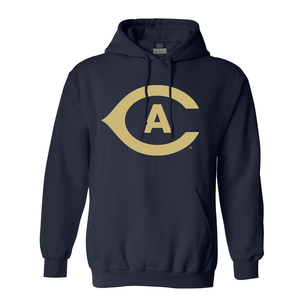 Image For MV® Sport UC Davis Athletic Mark Hooded Sweatshirt Navy