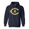 Cover Image for MV®Sport CA Athletic Long Sleeve Crew Sweatshirt Navy