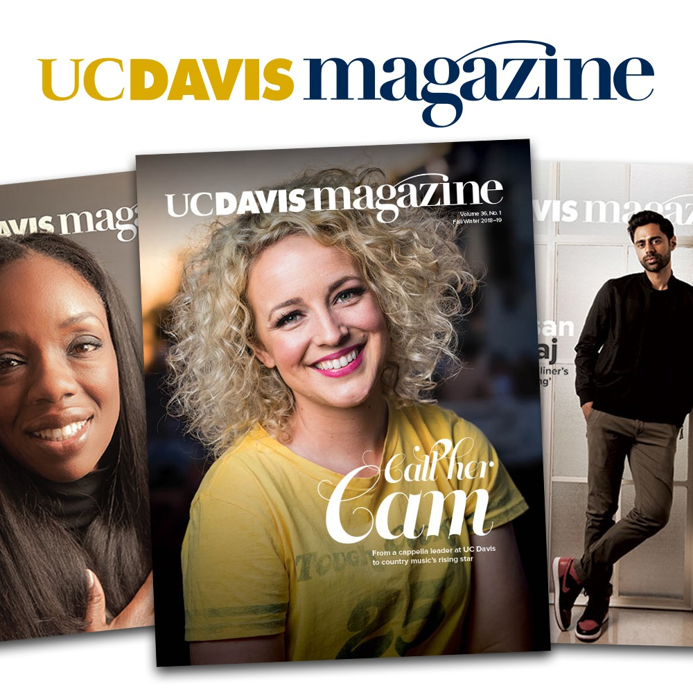 Image For UC Davis Magazine 2 Year Subscription