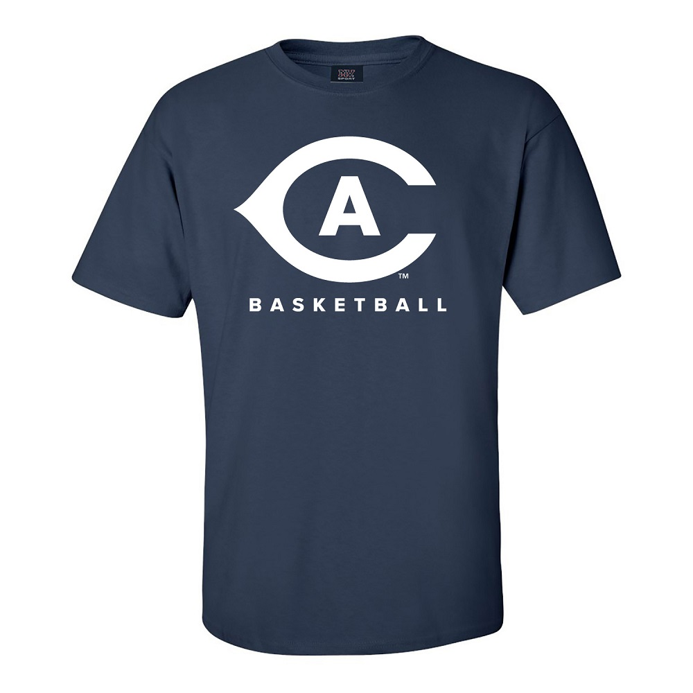 Image For MV® Sport UC Davis Basketball T-Shirt Navy