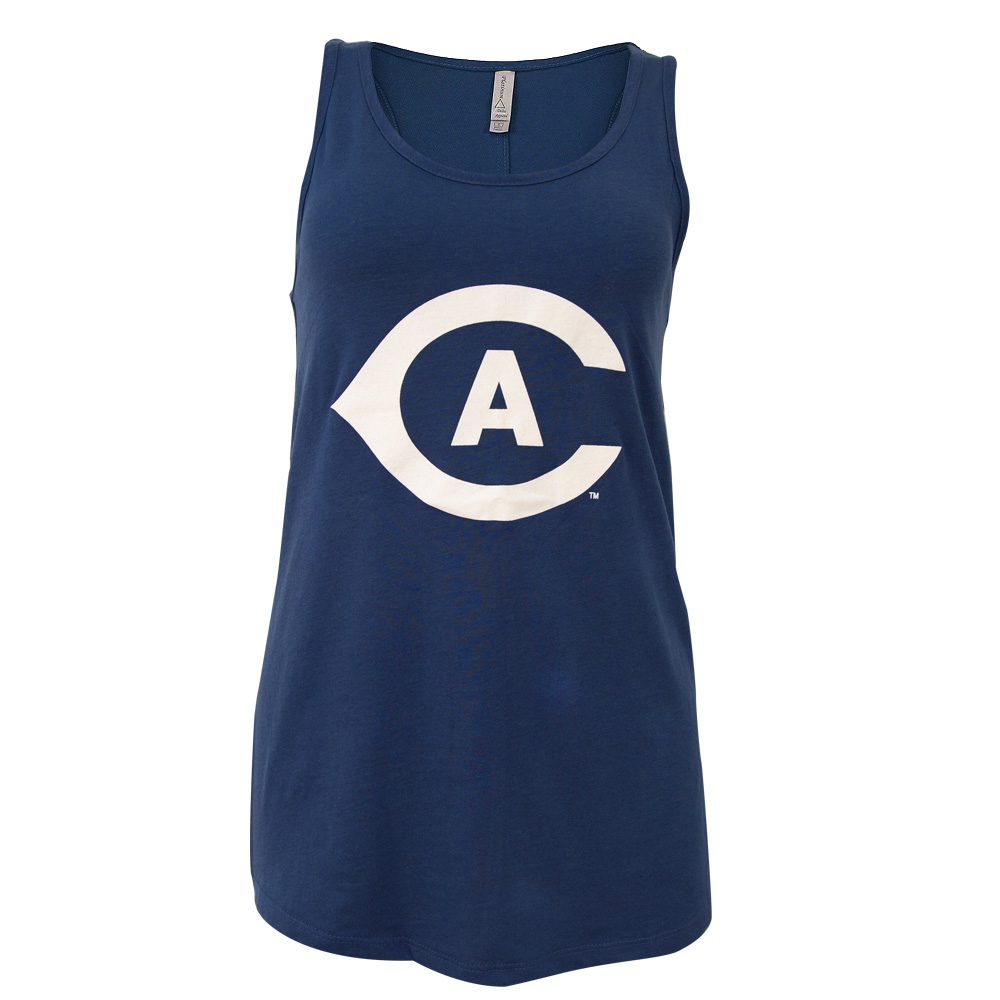 Image For MV® Sport UC Davis Game Day Ladies Tank Top Navy