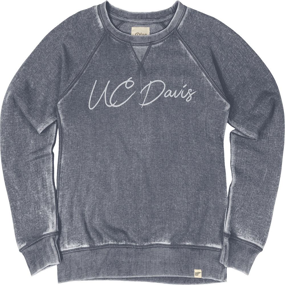 Image For Blue 84 UC Davis Women's Sweatshirt Navy Originally $49.99