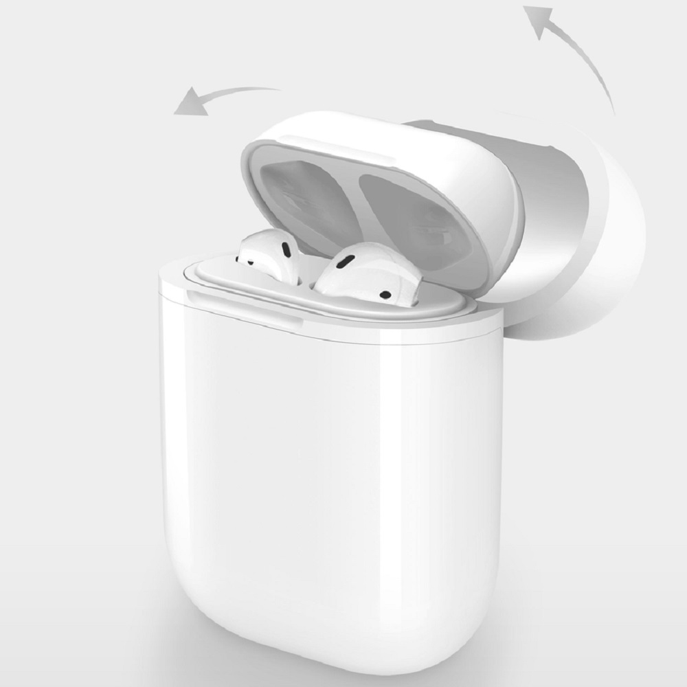 Cover Image For HyperJuice Wireless Charging Case for AirPods - White Box