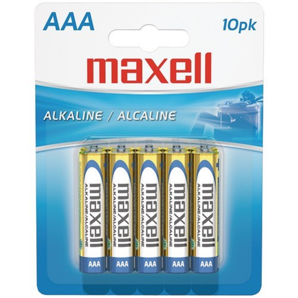 Image For Maxell 10Pk AAA Batteries