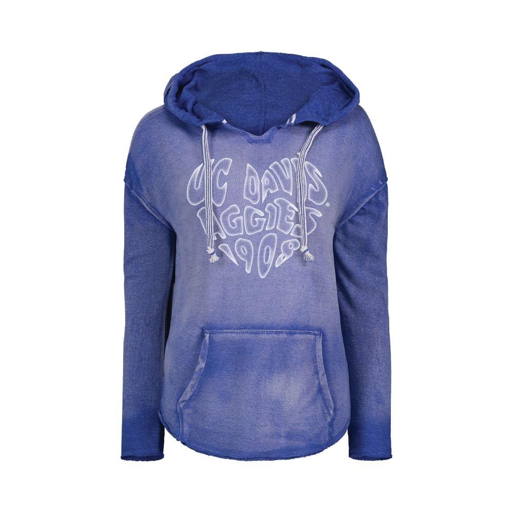 MV® Sport UC Davis Women's Nora Blue Sweatshirt