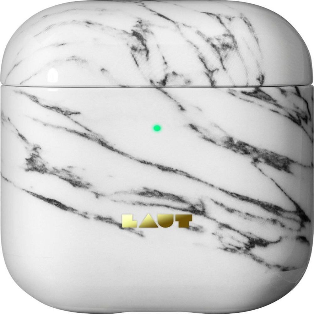 Image For Laut Huex Elements Airpods 1&2 Headphone Case White Marble