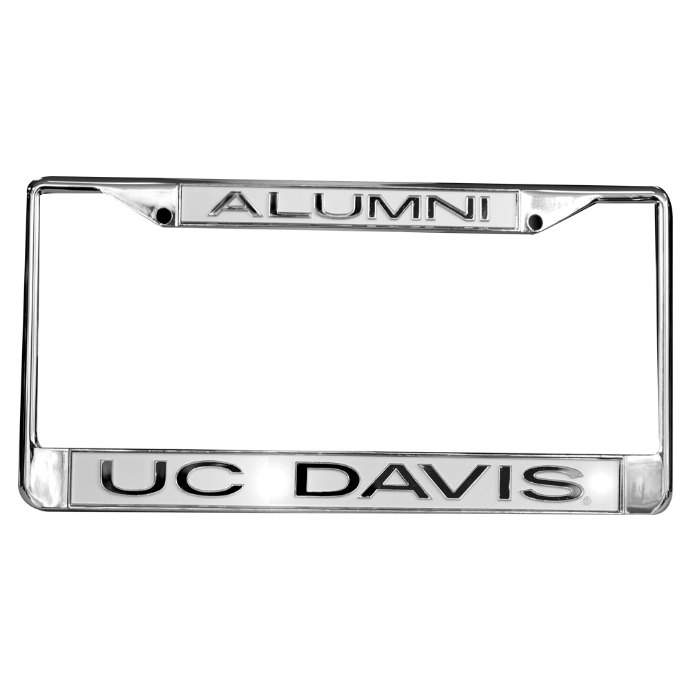 Image For UC Davis Metal Alumni License Plate Frame