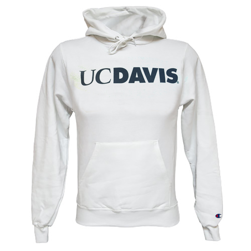 Image For MV® Sport UC Davis Hooded Sweatshirt White Originally $34.95