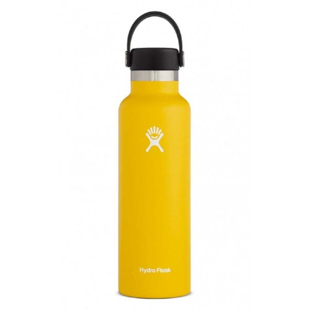 Image For Hydro Flask® 21oz. Standard Mouth Water Bottle Sunflower