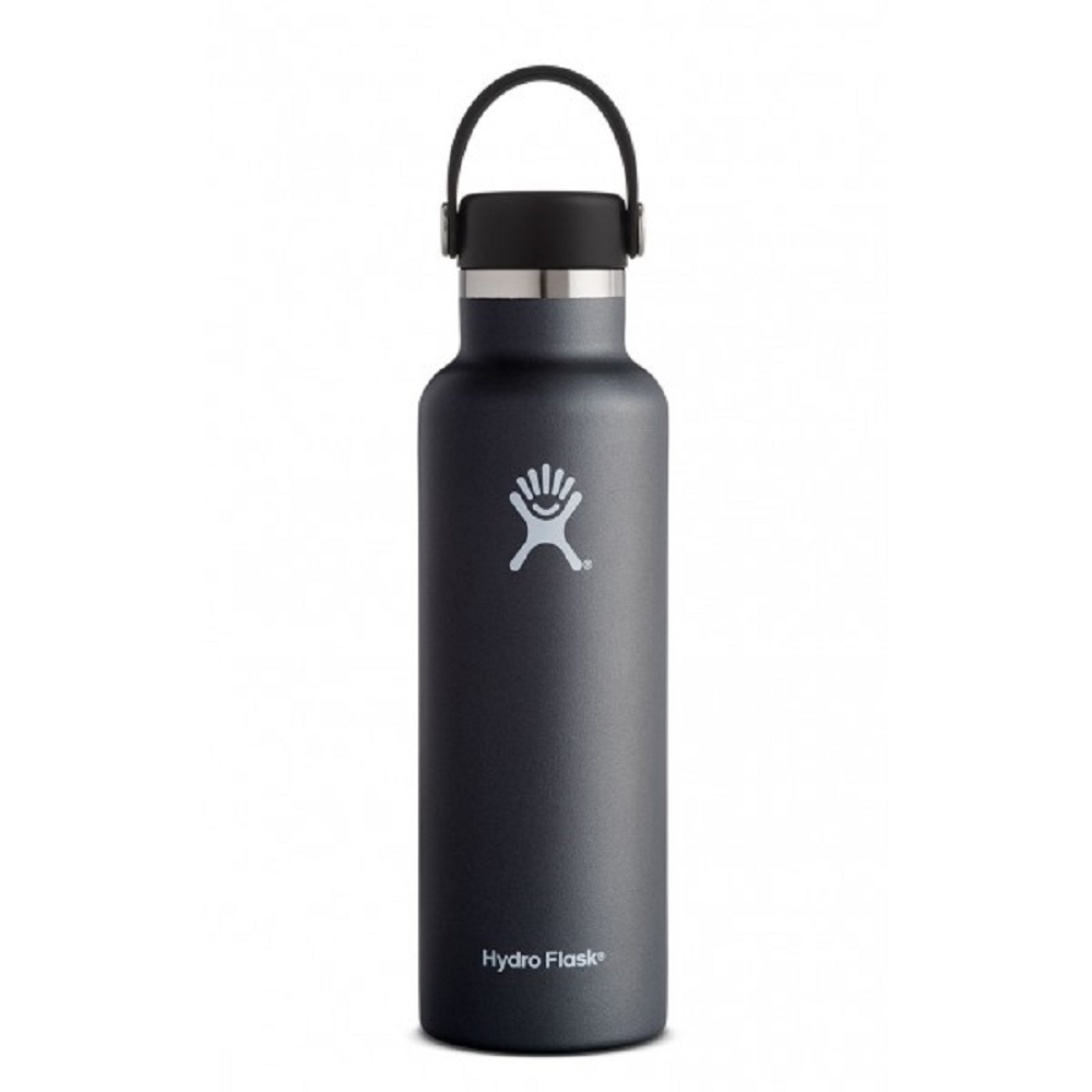 Image For Hydro Flask® 21oz. Standard Mouth Water Bottle Black