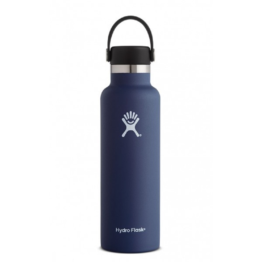 Image For Hydro Flask® 21oz. Standard Mouth Water Bottle Cobalt