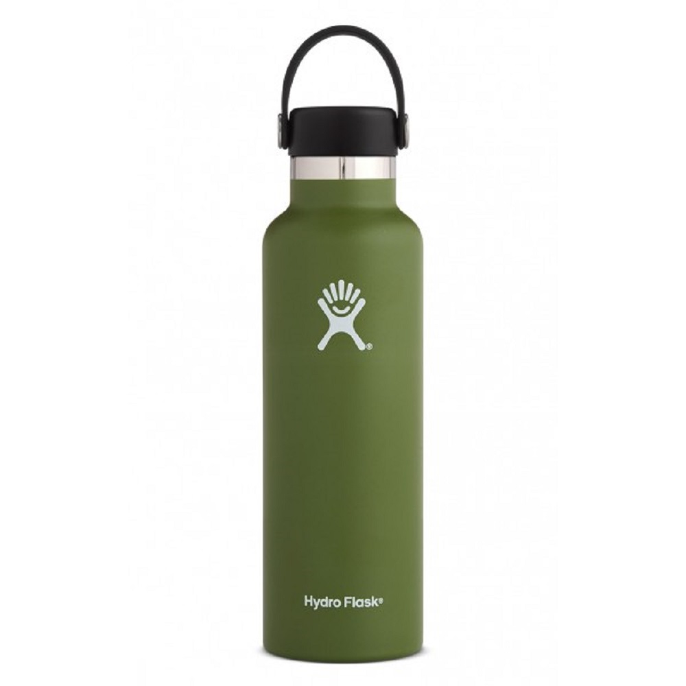 Image For Hydro Flask® 21oz. Standard Mouth Water Bottle Olive