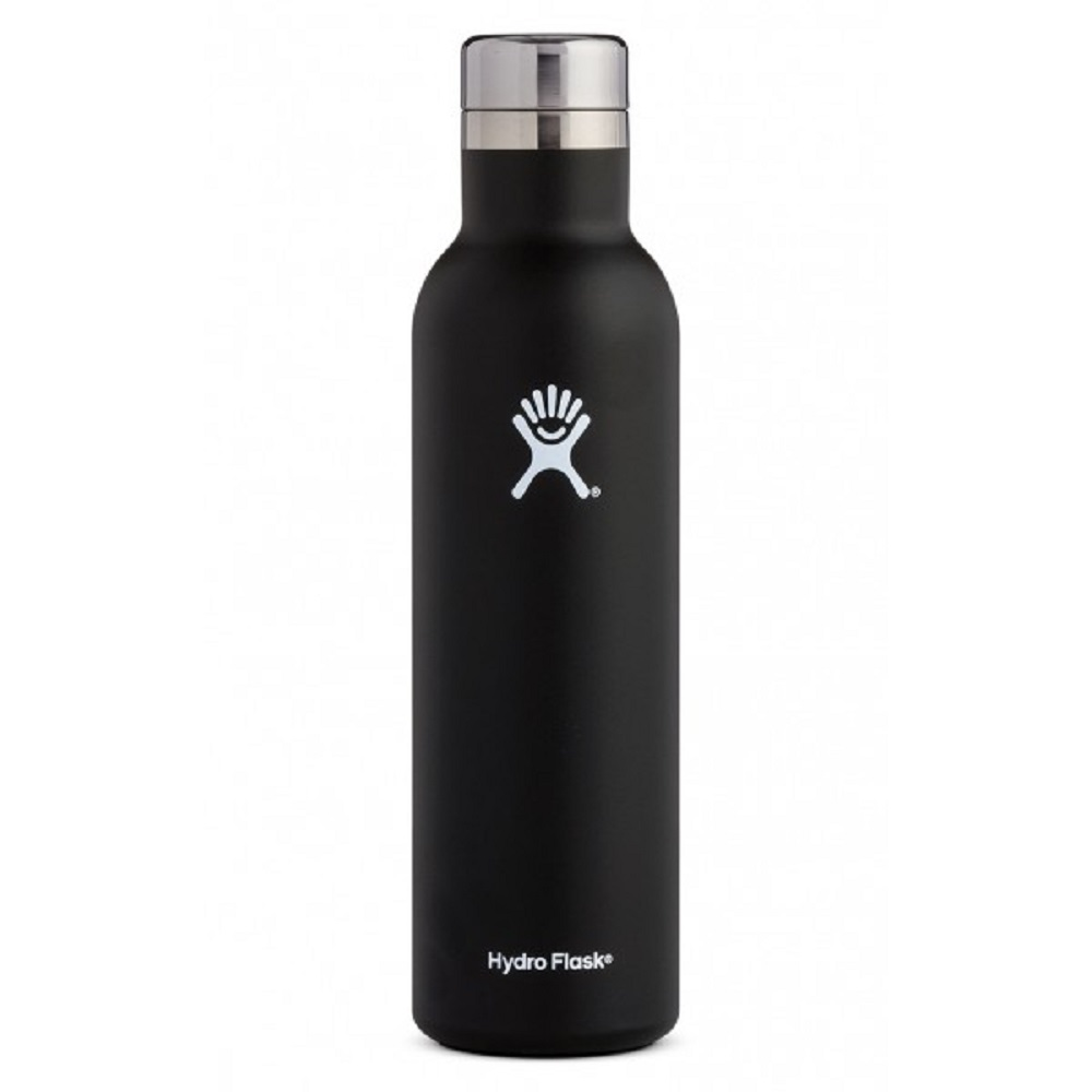 Image For Hydro Flask® 25oz Wine Bottle Black