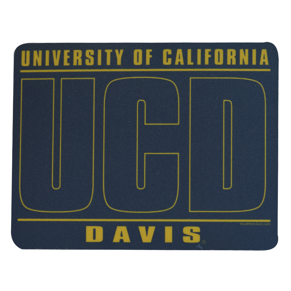 Image For Blue 84 UCD Extended Logo Vinyl Sticker