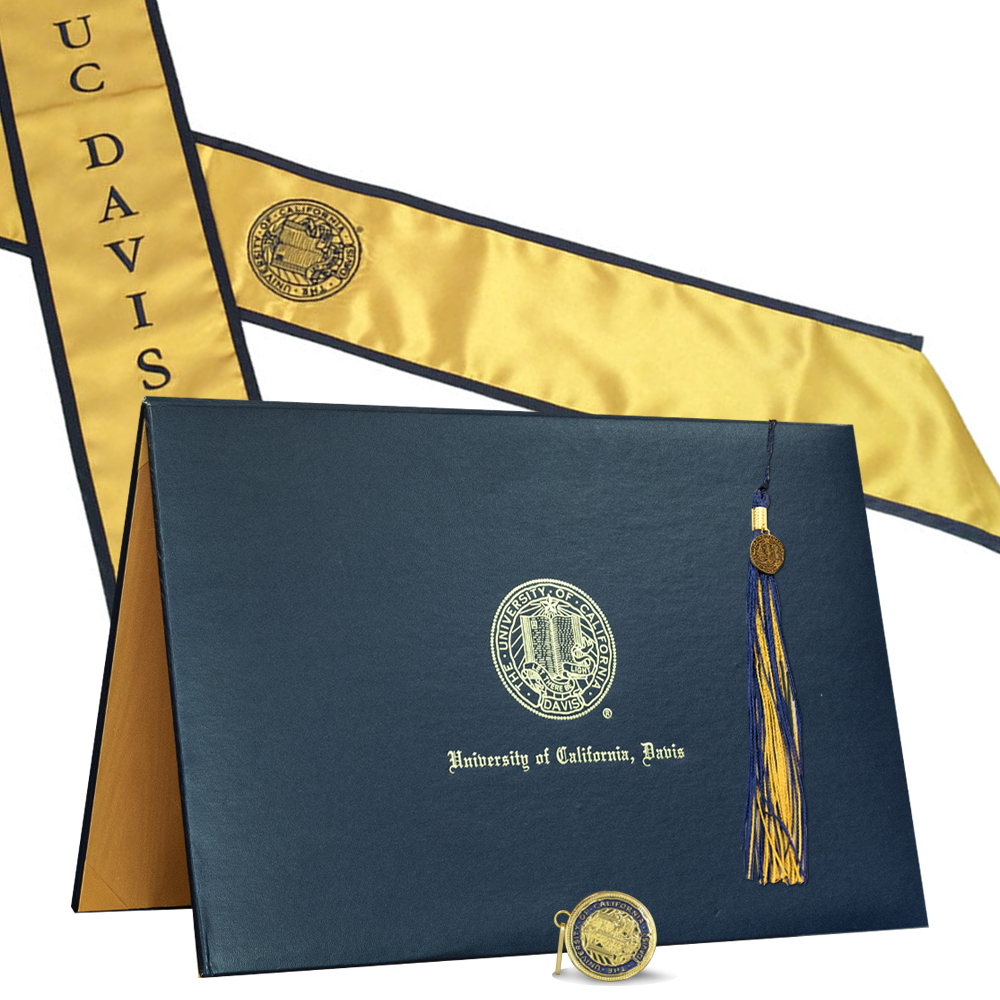 Image For UC Davis Grad Souvenir Pack For DVM, JD, and MD Degrees
