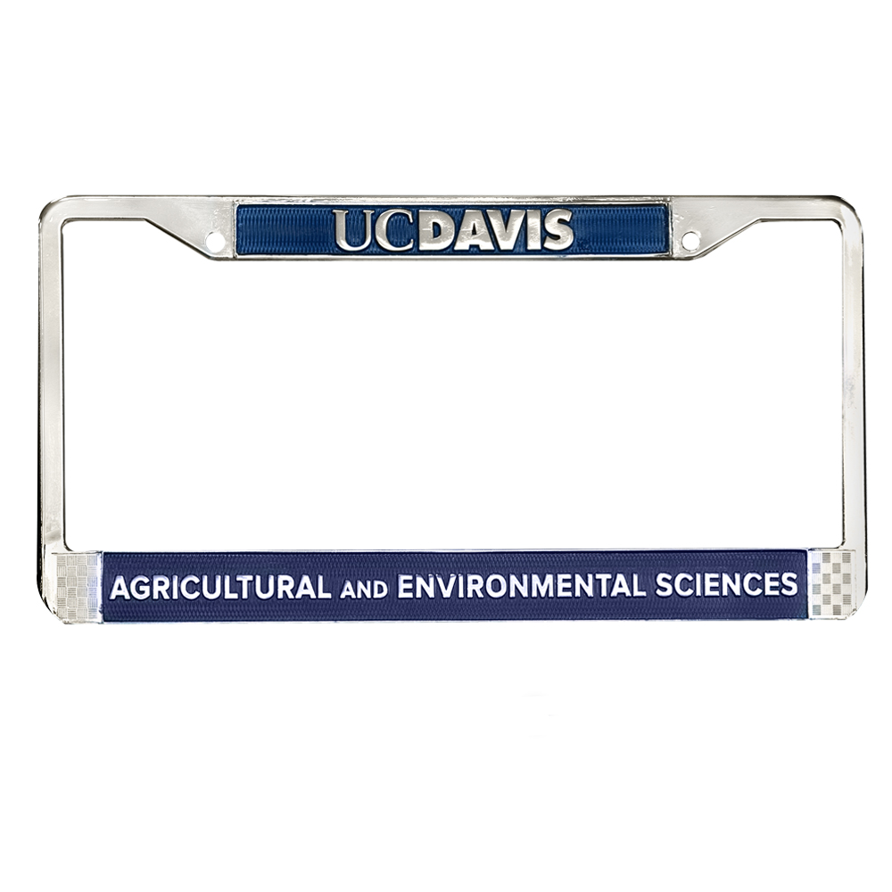 Image For UC Davis College of Ag and Enviro. Science License Frame