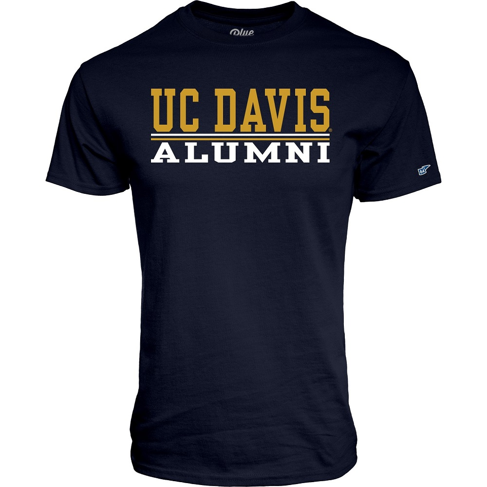 Cover Image For Blue 84 UC Davis Alumni T-Shirt Navy