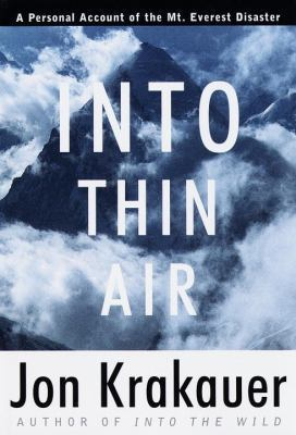 Image For Into Thin Air by Jon Krakauer