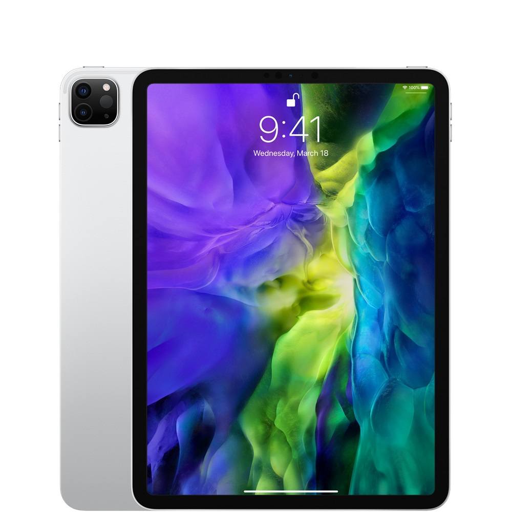 "Image For 11"" iPad Pro Wi-Fi 128GB Silver 2020"