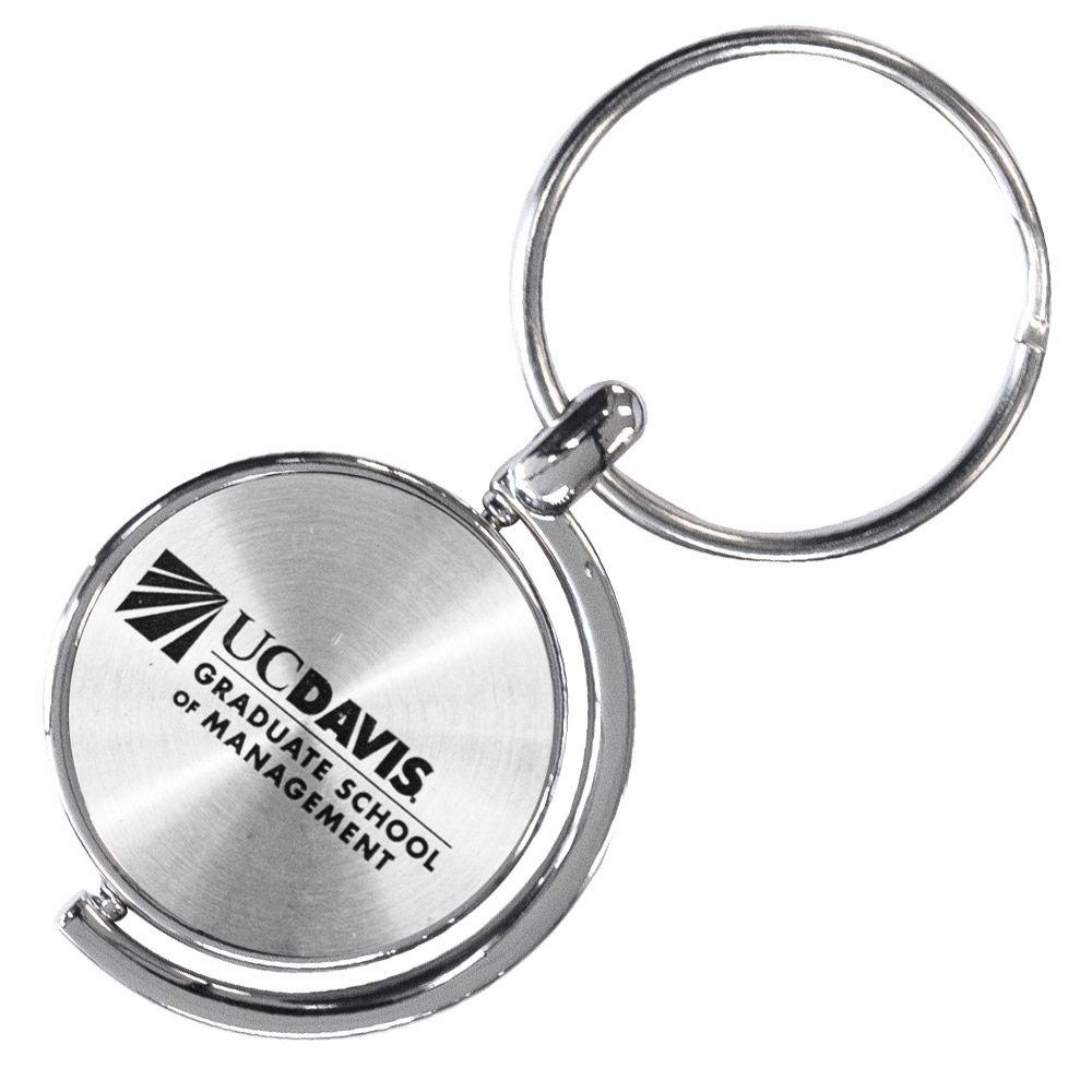 Image For UC Davis Grad School of Management Keychain Spinner