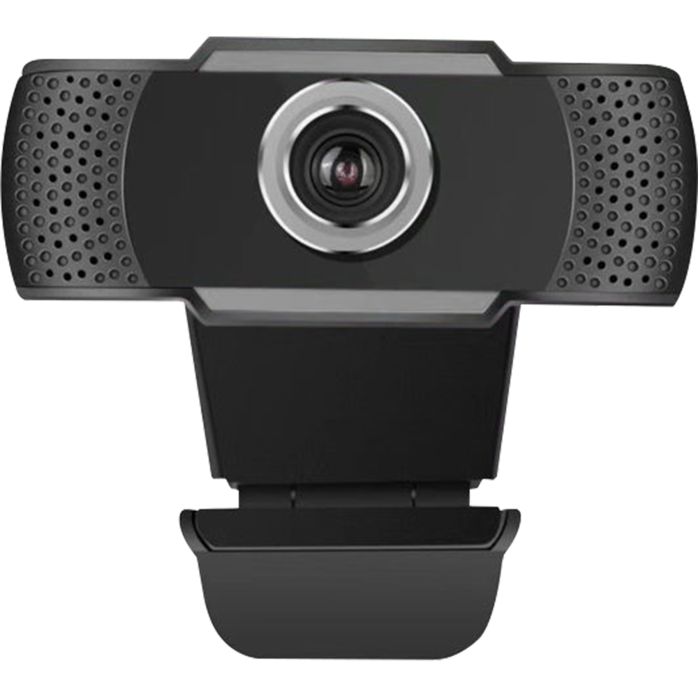 Image For Adesso 1080P HD USB Webcam with Built-in Microphone - Black