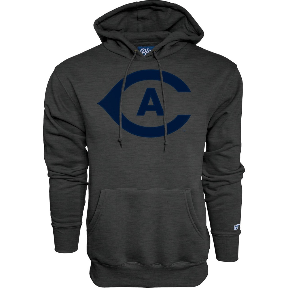 Image For Blue 84 UC Davis CA Hooded Sweatshirt Charcoal