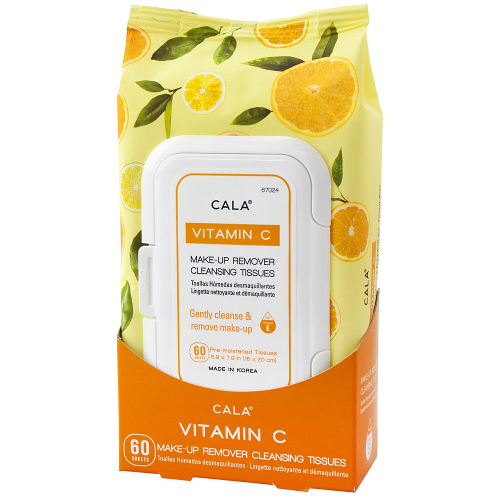 Image For Cala® Vitamin C Makeup Cleansing Tissues