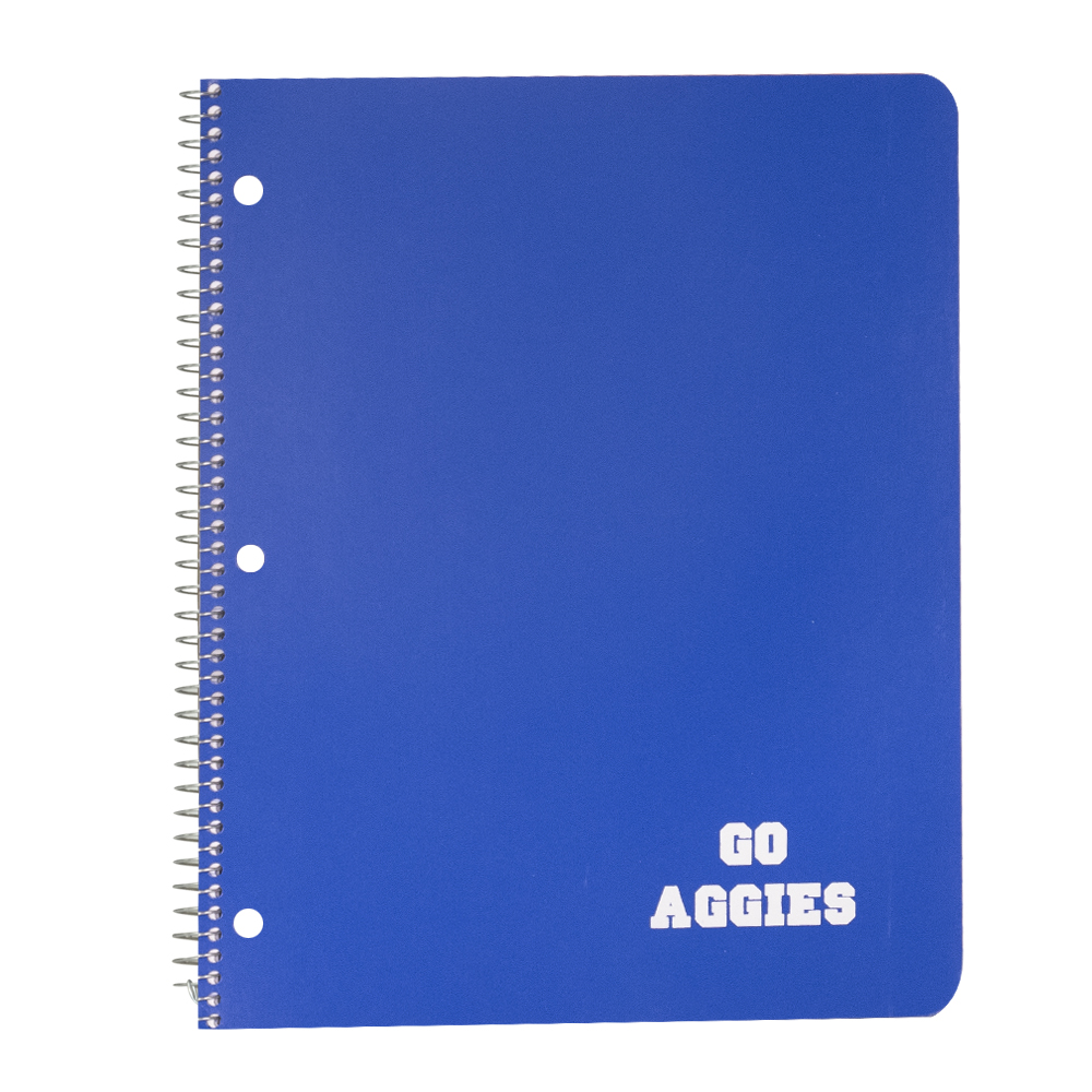 Image For Ampad® Go Aggies One Subject Notebook