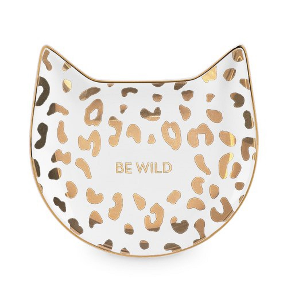 Image For PinkyUp®White Leopard Tea Tray