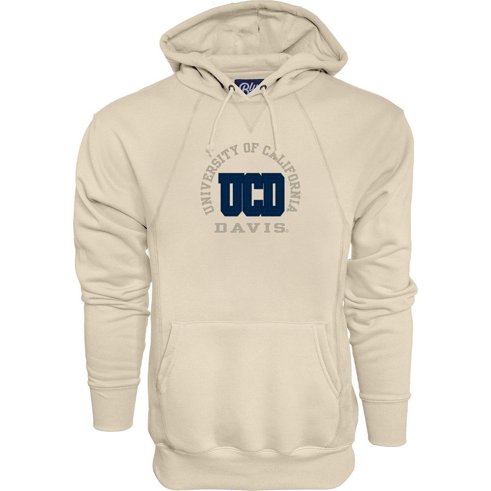 Image For Blue 84 UCD Applique Hooded Sweatshirt Cappuccino
