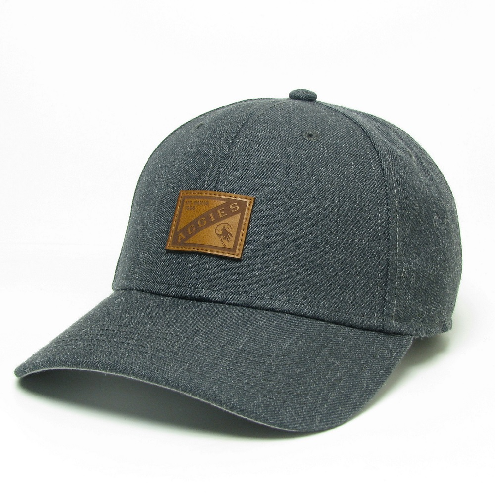 Image For Legacy® UC Davis Aggies Leather Patch Hat Originally $34.99