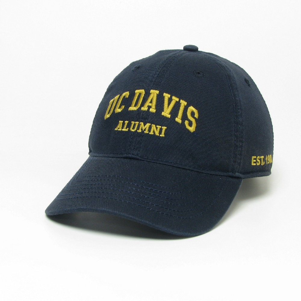 Image For Legacy® UC Davis Alumni Relaxed Twill Hat Navy
