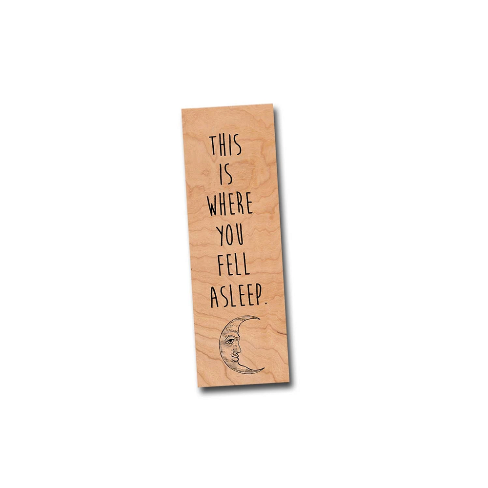 Image For This Is Where You Fell Asleep bookmark
