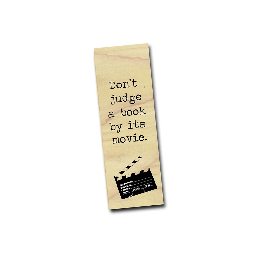 Image For Don't Judge a Book by Its Movie bookmark