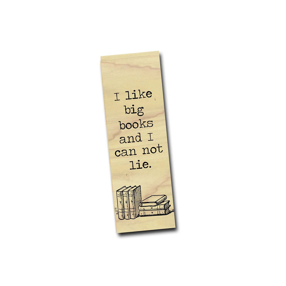 Image For I Like Big Books bookmark