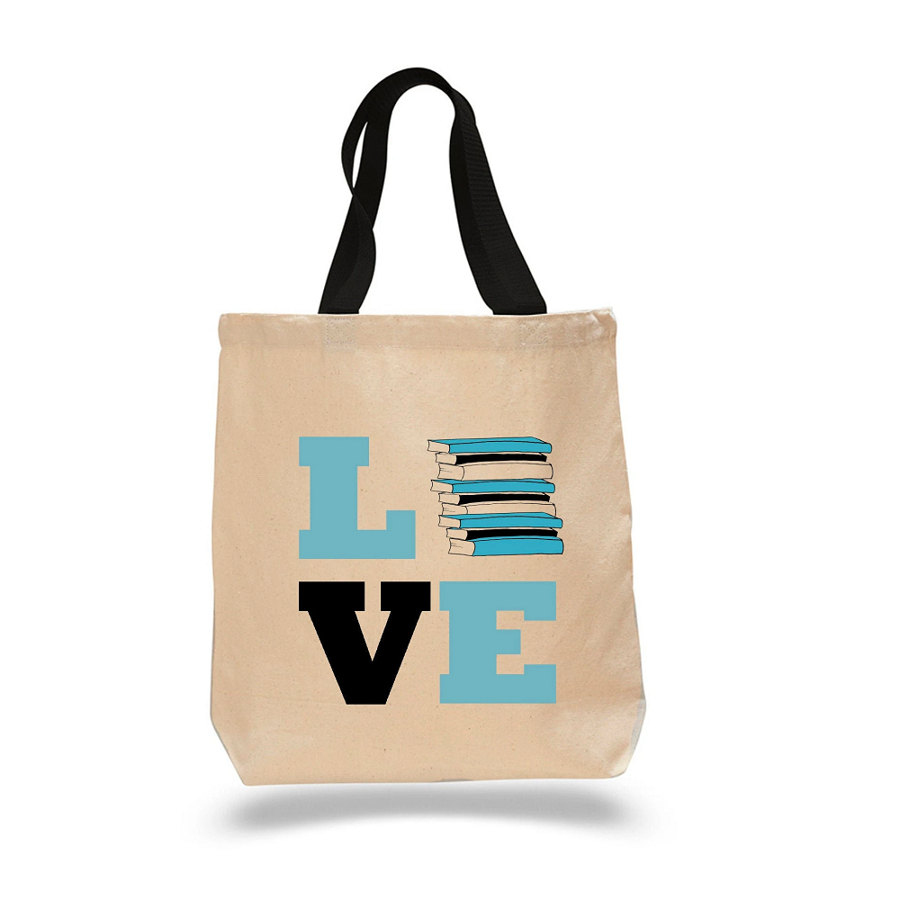 Image For Love Books Tote