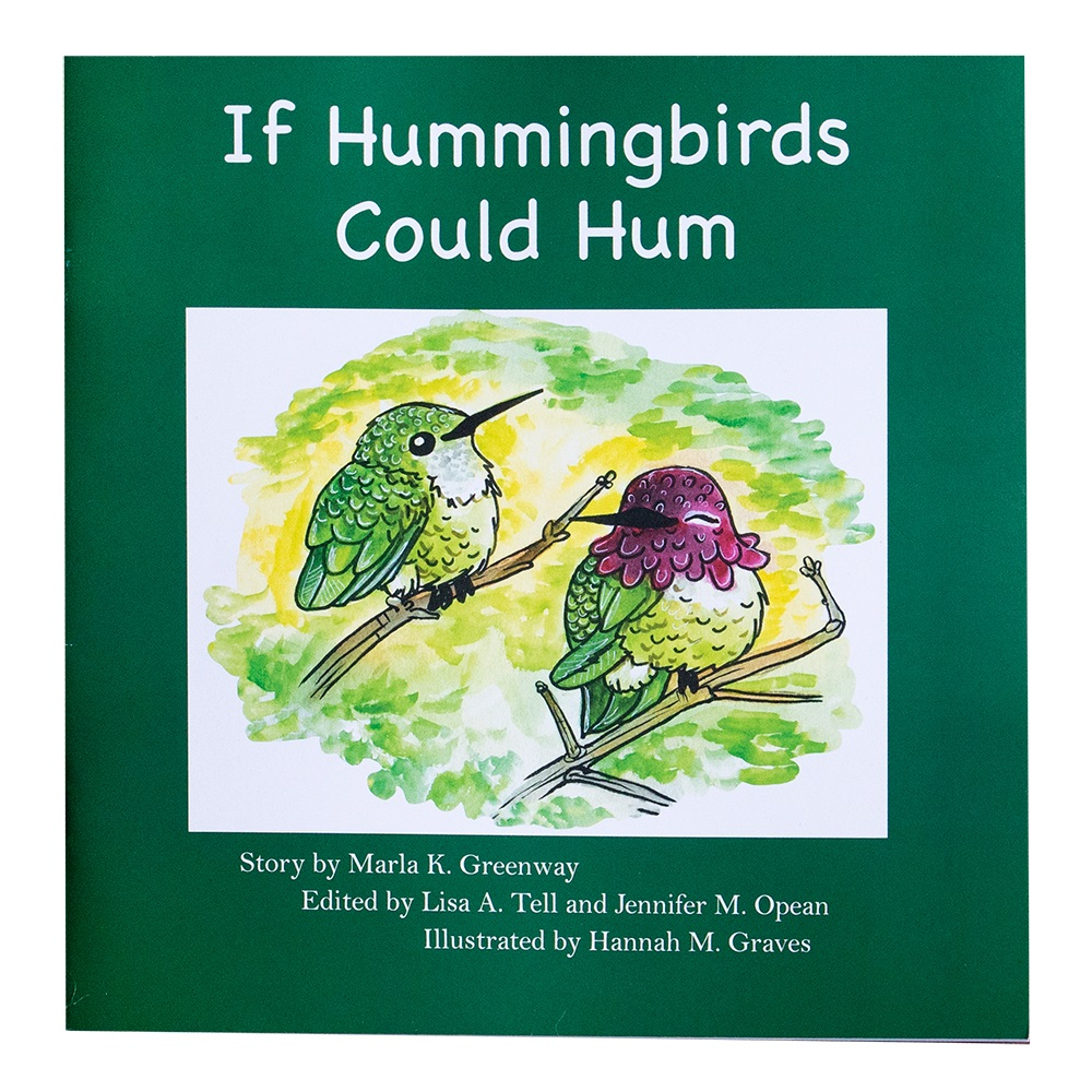 Image For If Hummingbirds Could Hum by Marla K. Greenway