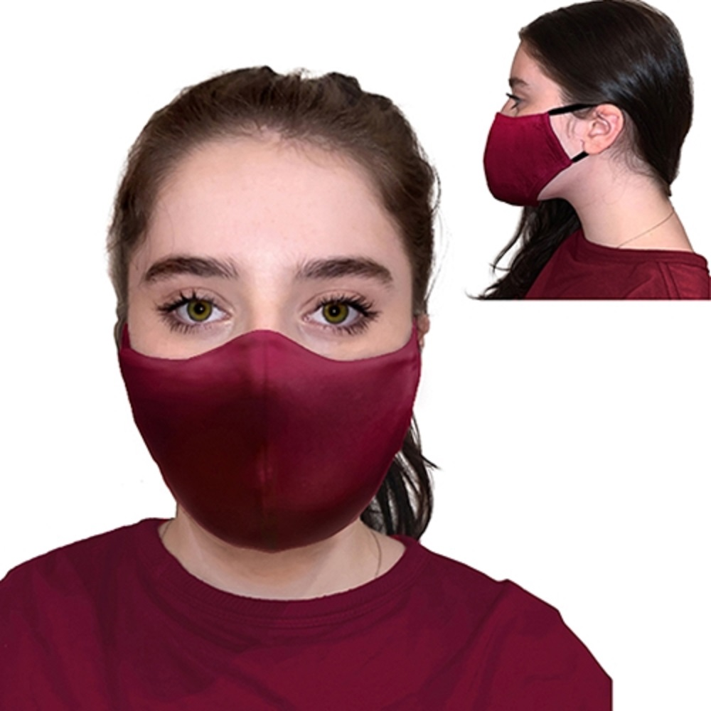 Image For Jardine Face Covering Collection Maroon