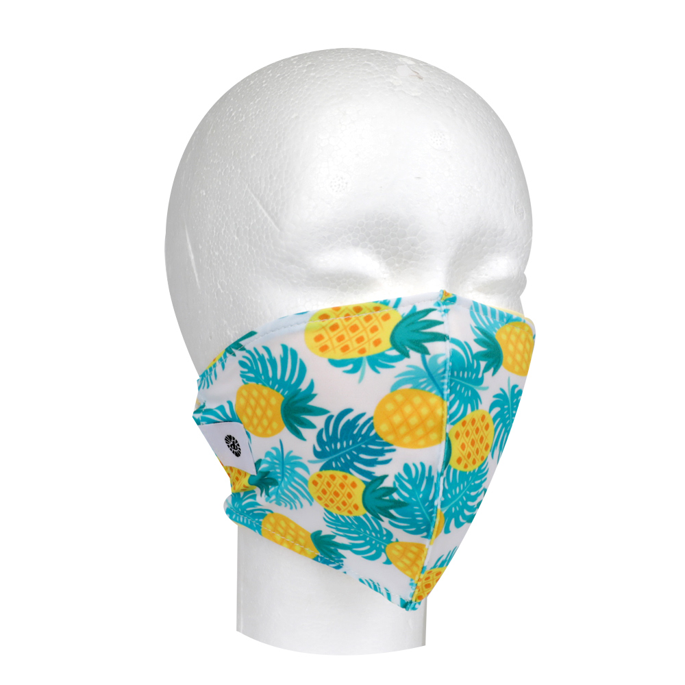 Image For Pomchies Pineapples Face Covering