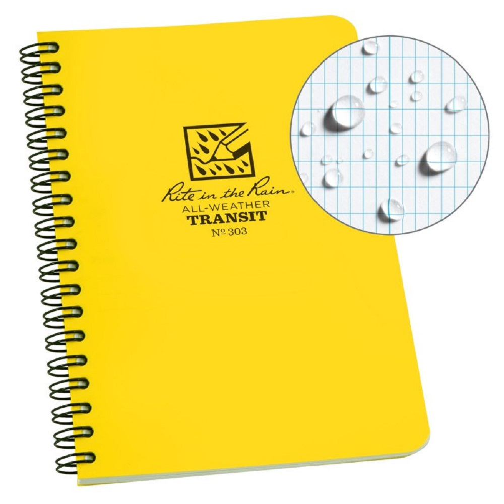 "Image For Rite In The Rain® Spiral Notebook 4.625"" x 7"""